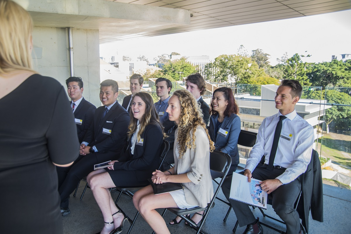 BEL and EAIT students connected with eight leading firms at the breakfast