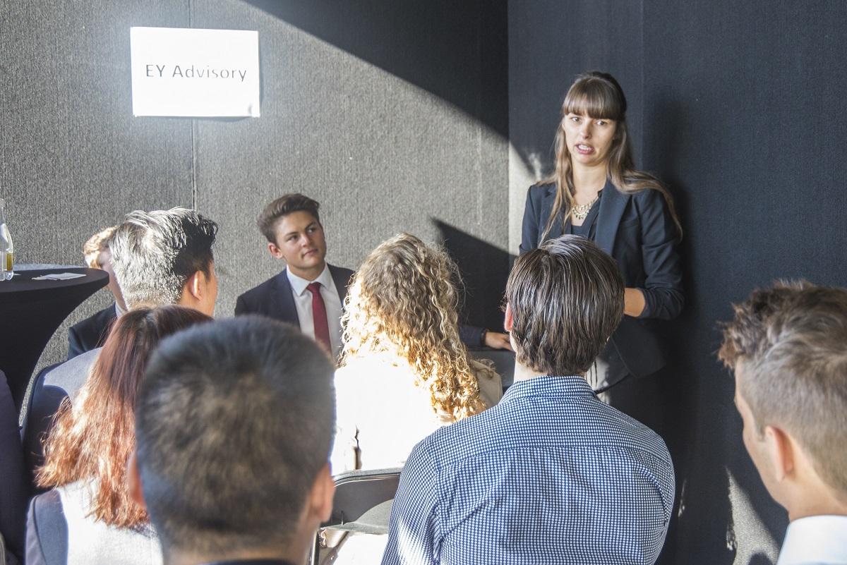 EY Advisory Campus Recruitment Senior Consultant, Rebecca Weidner