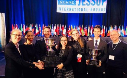 Winners of the 2018 Philip C. Jessup International Law Moot Court Competition