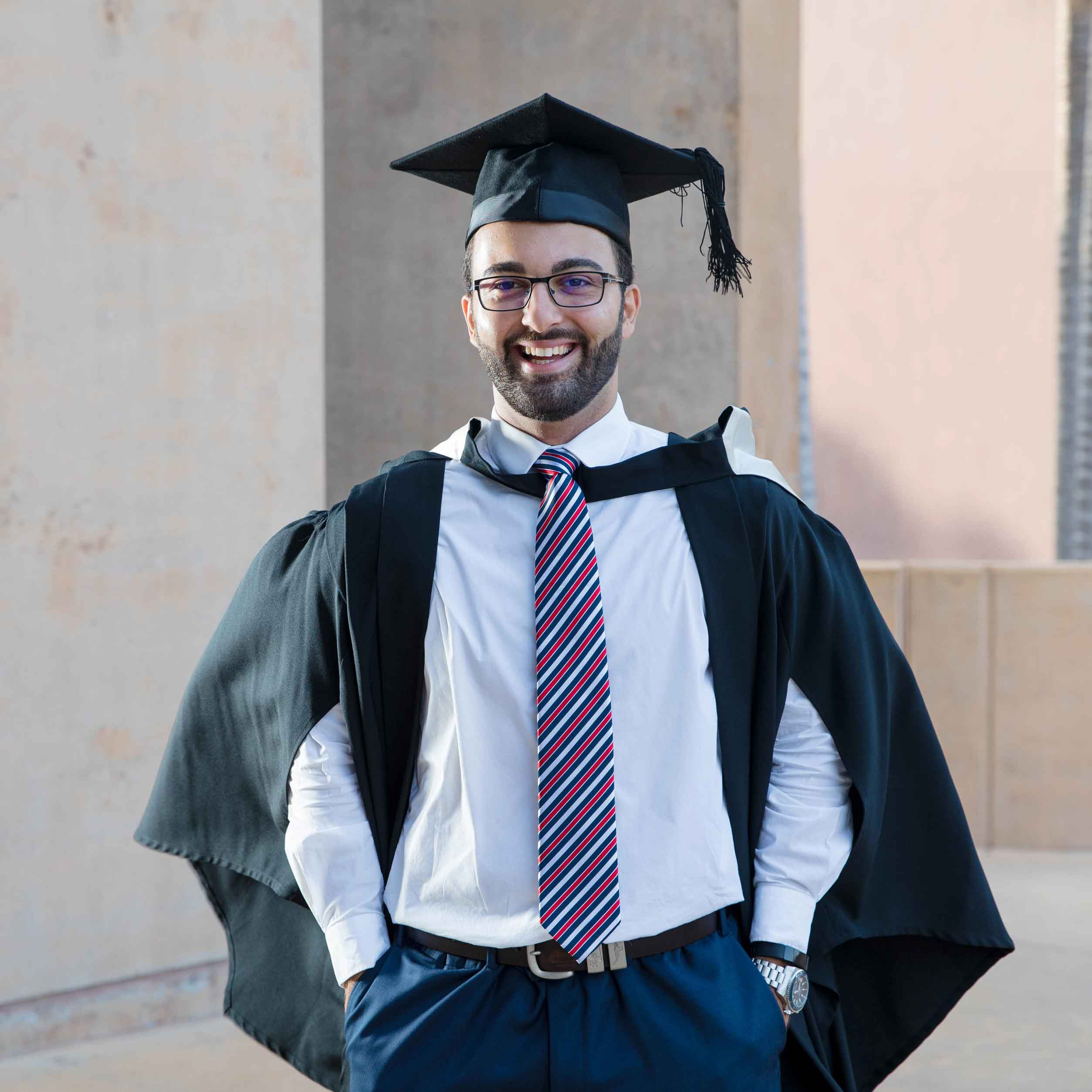 This is an image of 2019 graduate Manny George