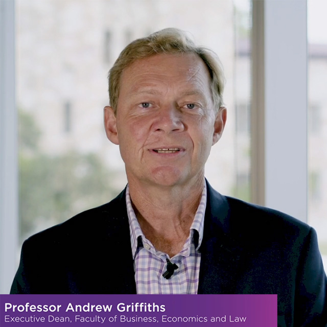 message from professor Andrew Griffiths