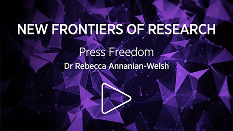 Video of Protecting freedom of the press in Australia with Dr Rebecca Ananian-Welsh