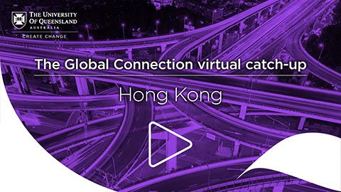 Global Connection virtual catch-up in Hong Kong
