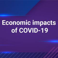 "title card ""Economic impacts of COVID-19"""