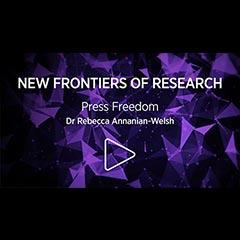 title card for New Frontiers of Research series
