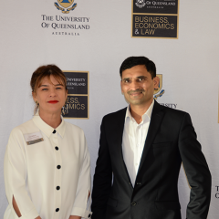 Cate Clifford, BEL SET Employability Specialist - Mentoring, and Bhatu Pawar, Senior Consultant, Advisory, EY