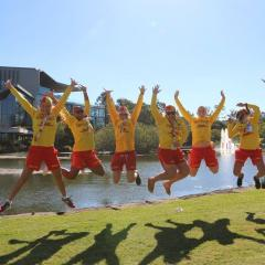 Young lifesavers will boost their leadership skills at UQ.