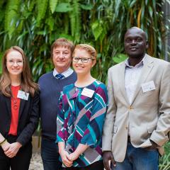 BEL Three Minute Thesis competitors