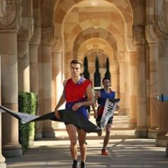 Max Whiteoak's winning 2017 Men's Great Court Race