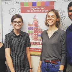 Law students are working with the Queensland Community Alliance