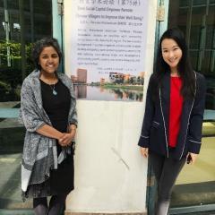 Associate Professor Renuka Mahadevan (left)