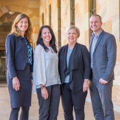 Professor Nicole Gillespie, Dr Nicole Hartley, Professor Deborah Theodoros and Professor Trevor Russell