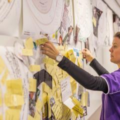 CreateAthon ideas wall