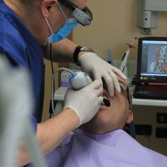 performing dentistry in a private practice