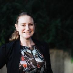 MBA graduate Claire Cunningham