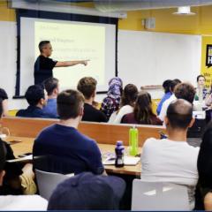 meeting at Idea Hub