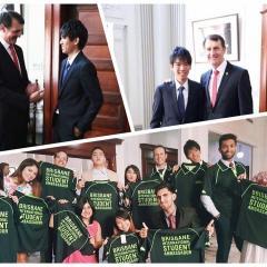 Ho Yeung Cheung was recently named a Brisbane International Student Ambassador