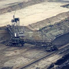 Coal mining operation