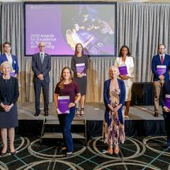 2020 UQ Teaching Excellence Awards winners
