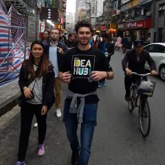 UQ Business Management student Dave Cole in Shanghai