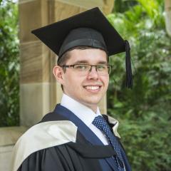 Valedictorian Jason Lejcak