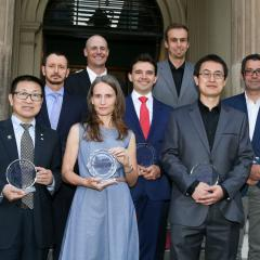 An EAIT-BEL partnership with the Port of Brisbane received a UQ Partners in Research Excellence Award