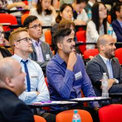 Students at the BEL International Student Employability Conference